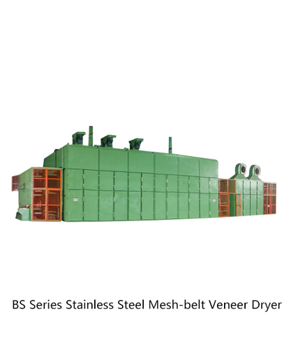 BS Series Stainless Steel Mesh-belt Veneer Dryer